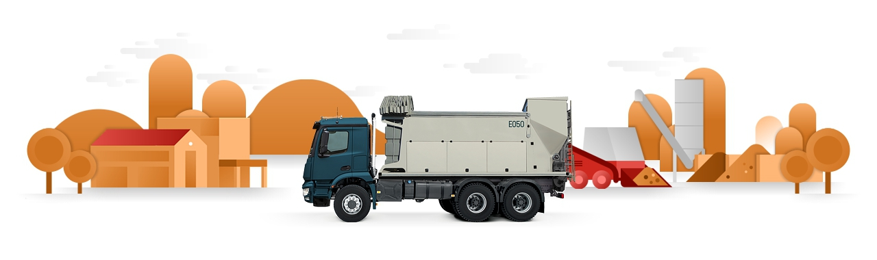 MOBILE VOLUMETRIC CONCRETE MIXERS
